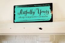 Artfully Yours / Artfully Yours in the arts district of Williamsburg, Virginia