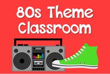 80s Theme Classroom / Ideas for an 80s theme in your classroom!