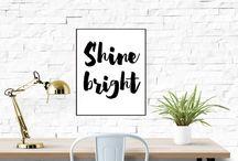 Shiny & Sparkly