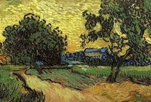 van gogh landscapes / van Gogh landscapes paintings
