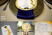 Invitations + Stationery / Invitation & Stationery Design