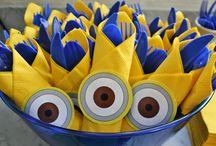 Minion-Geburtstagspartys