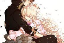 Anime çiftler