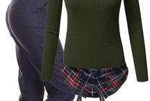 Cămașa sub bluza