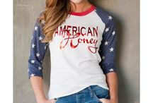 Country Graphic Tees and Tanks / Find the latest in tees and tanks that represent our country lifestyle.