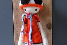 Ak at home : crochet * Arjen Robben / vogelmelk bloem