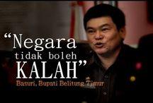 LOCAL LEADER / People of Bangka Belitung