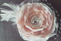 HANDMADE headband /headress/ hair accessories/ bridal /baby girl/baby shower/hairclips/fabric flowers /κορδέλες για κορίτσια / www.instagram.com/Katerina Beri  HANDMADE /ΧΕΙΡΟΠΟΙΗΤΕΣ ΔΗΜΙΟΥΡΓΙΕΣ