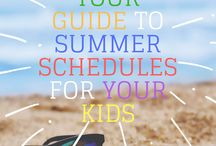 Summer Family Activities(Seasonal) / Summer Activities with Kids, Summer Family Fun, Seasonal Summer, Summer Activities for Families