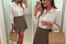 Looks / Looks despojados,  elegantes e bonitos;