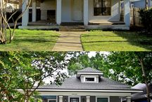 At Home: Ext: Before & After / by Junkin' J