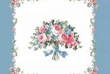 fiori con riquadro