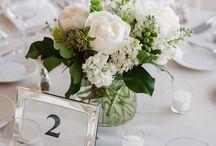 Svatba - stůl