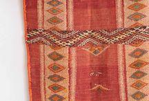 Rugs / Alfombras de Marrakech en Morocco.  Beni Ouarain, Boucherouite y Killim Zamour. Antique carpets. www.casamediterranea.com.ar