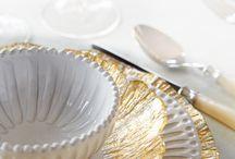 Beautiful Tableware / For setting a beautiful table