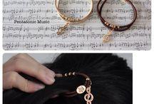 Hair Accessories / Music Hair Accessories