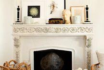 wall arrangement and shelving