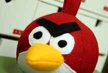 Sewing, Playing - Angry Bird
