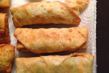 Gluten free egg roll wrapper