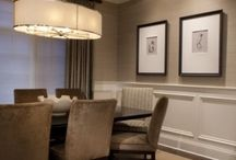 dining room coffered