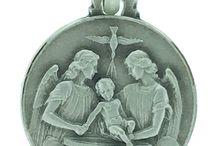 Medaglie religiose in argento