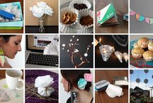uses for coffee filters / by Joyce Newton