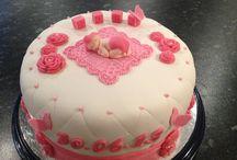 Mine kaker ks / Heimelaga kaker til dåp, bursdag og fest