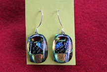 My Style Fused glass earrings / All products from Magical Bazaar can be purchased in the Etsy store under http://www.etsy.com/people/MagicalBazaar