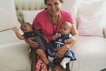Eva and Mateo (children twins Cristiano Ronaldo)