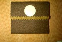 handmade journals/ notebooks