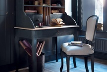 secretaire blue