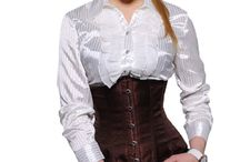 Brown Corsets @ UnisexCorsets.com / Brown Corsets @ UnisexCorsets.com / by UnisexCorsets.com