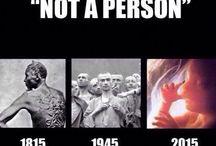 Comparison abortions / Přirovnání k potratu