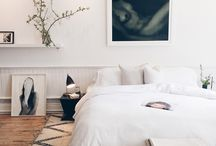Bedroom inspiration / Lovely bedrooms
