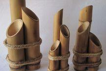 artes com bambu