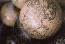 Carte / Globe / Map