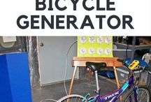 Bicycle Generator