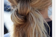 Hairstyles to try / by Jenessa
