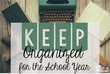 Classroom Organization and Decor