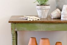 Rustic & Shabby Chic Furniture / Rustic, shabby chic furniture, furniture with patina, chippy finishes and old furniture with history
