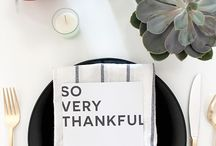 Thanksgiving Modern