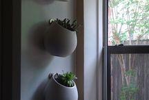 Post: Horta e decoração