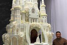 Wedding rome cake