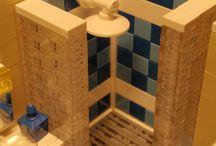 Lego building interiors