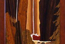 intarsio e arte su legno