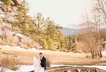 Brides magazine feature, Estes Park Colorado destination wedding