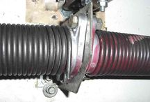 Garage Door Spring / Garage door spring repair, broken spring replacement and installation