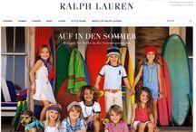 POLO RALPH LAUREN KIDS / Sofisticação, Tradição, Qualidade e Requinte. O jeito Polo Ralph Lauren de ser.