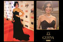 Gehna at Filmfare Awards 2016 / A star studded event with celebs looking stunning in Gehna Jewellery
