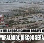 Antalya'daki Hortum Felaketinin Boyutu Gündüz Ortaya Çıktı.